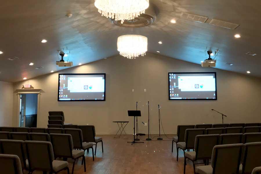 AV systems for churches