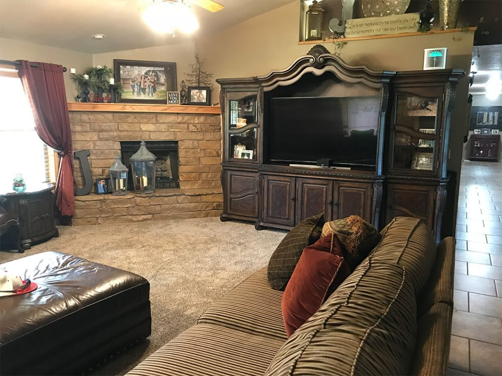 Smart Home Systems installation for Oklahoma City and Edmond. Living Room 5.1 Surround Sound by Monitor Audio Speakers. By Vox Audio Visual Elite Services.