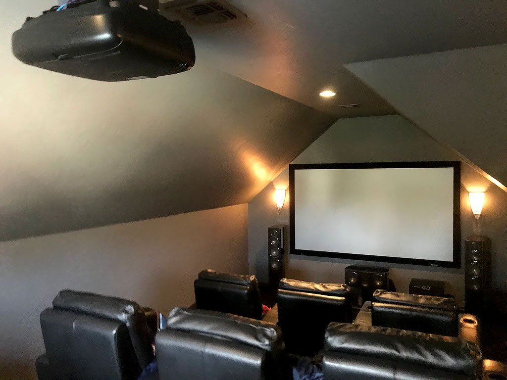 Savant System upgrade includes home theater and indoor lighting controls